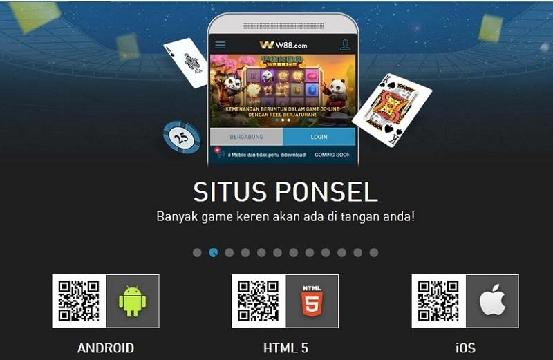 W88 Indonesia – Aplikasi Untuk Telepon Pintar Kesayangan Kamu