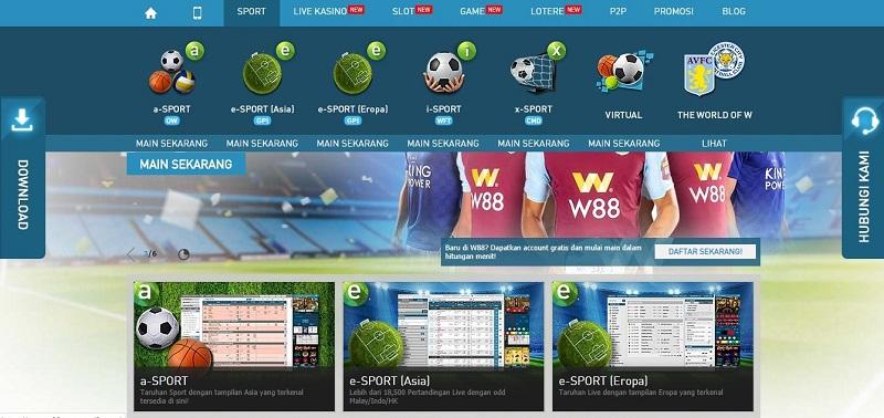 Kesimpulan Memukau: W88 Situs Judi Bola Terbesar