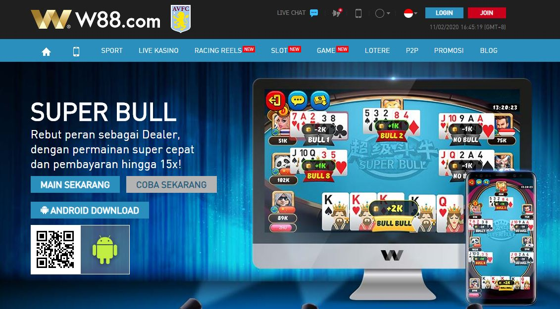 Permainan-kartu-online-dengan-Uang-Asli-di-W88