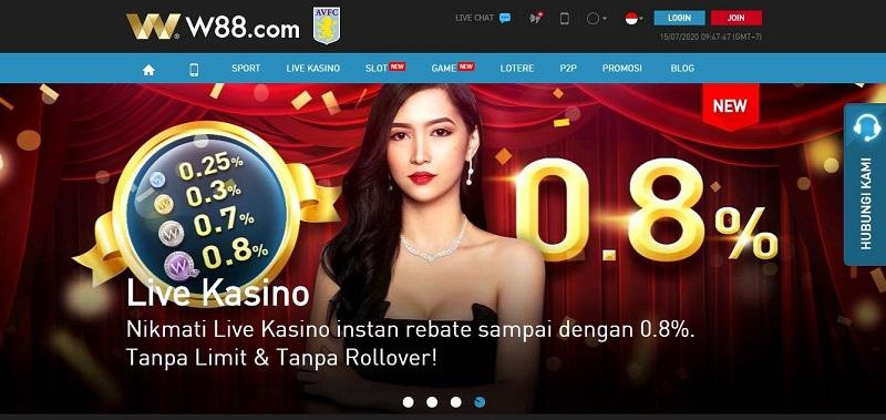 W88 Memiliki Reputasi Baik No. 1 di Indonesia