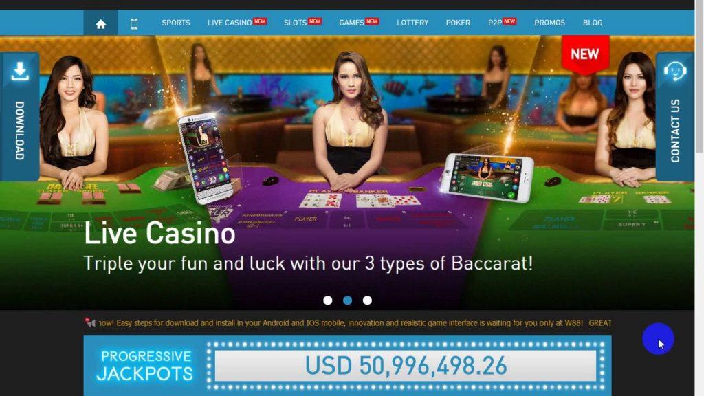 Tips Memenangkan Baccarat Game Casino Online W88 Yang Harus Diketahui