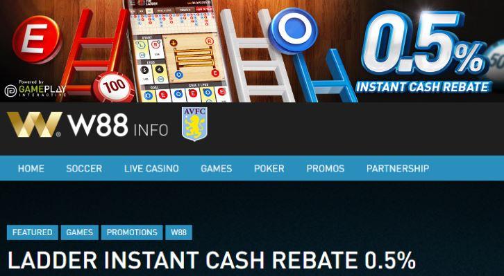 Bonus Cash Rebate Permainan The Ladder