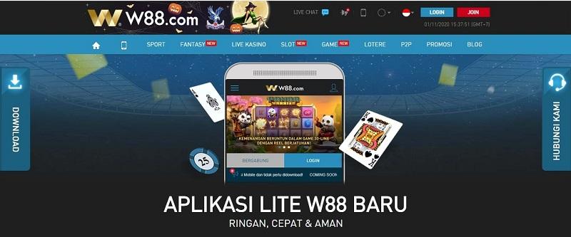 Aplikasi W88 Versi Android