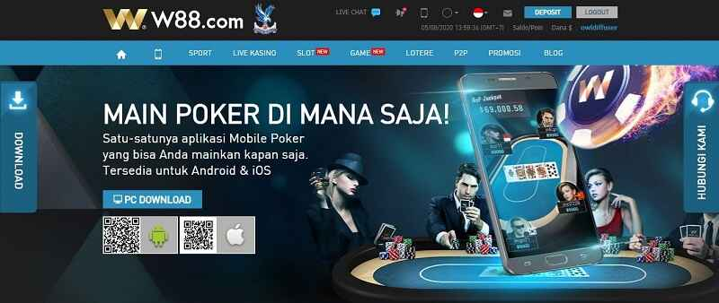 Download Poker W88