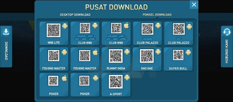 W88 Poker Apk: Download iOS dan Android App