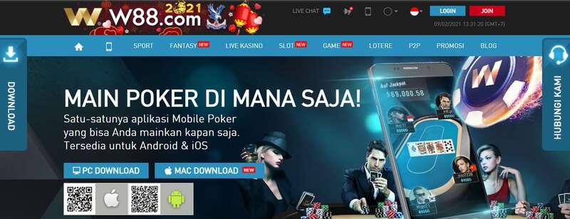 Pengalaman Selular untuk Aplikasikan Tips Sukses Bermain Poker Online W88