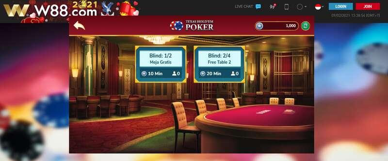 Tips Sukses Bermain Poker Online di Situs W88