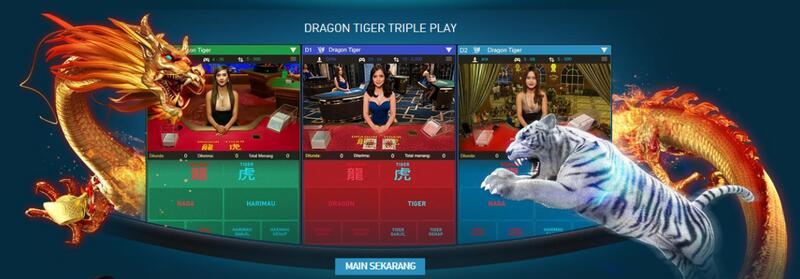 Akses Dragon Tiger Live dan Virtual di Tautan Alternatif Situs W88
