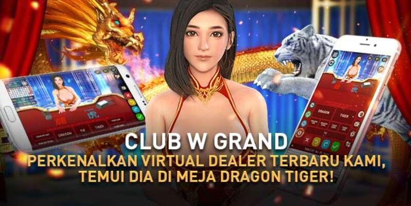 Bermain Dragon Tiger Online W88 di Ponsel Pintar