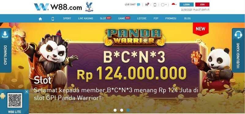 Bandar Judi W88 Indonesia: Rumah Lotere Online Terbaik